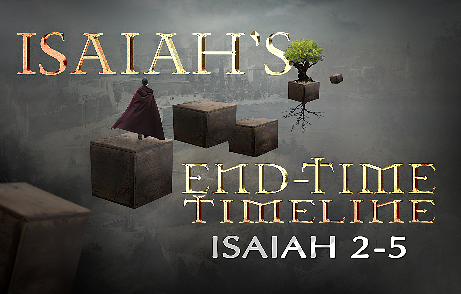 Isaiah's End-time Timeline Chapters 2-5